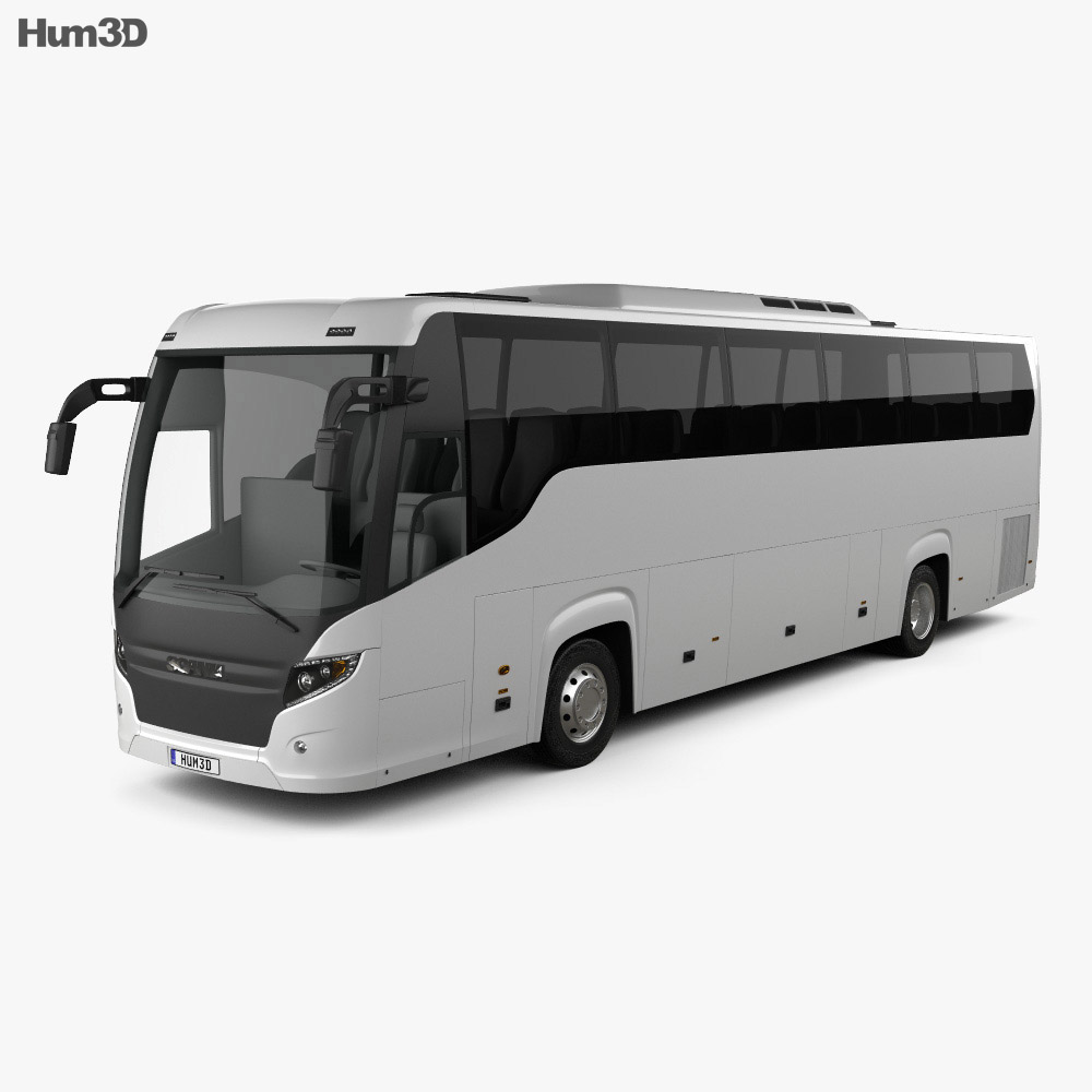 Scania Touring Bus 2009 3d model
