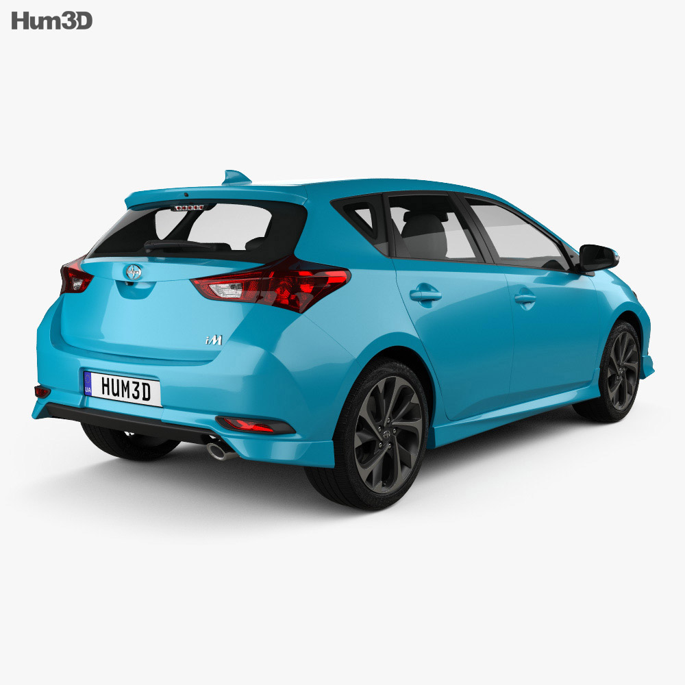 Scion iM 2016 3d model