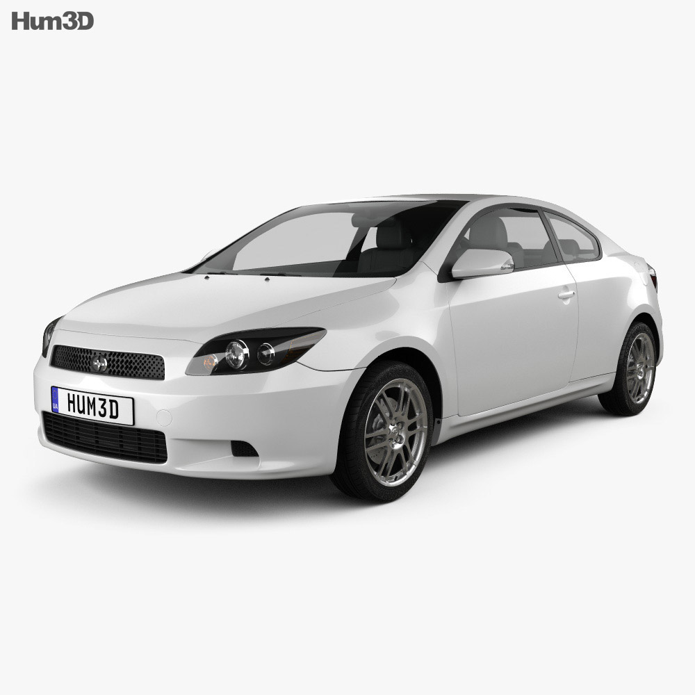 Scion tC Base 2008 3d model