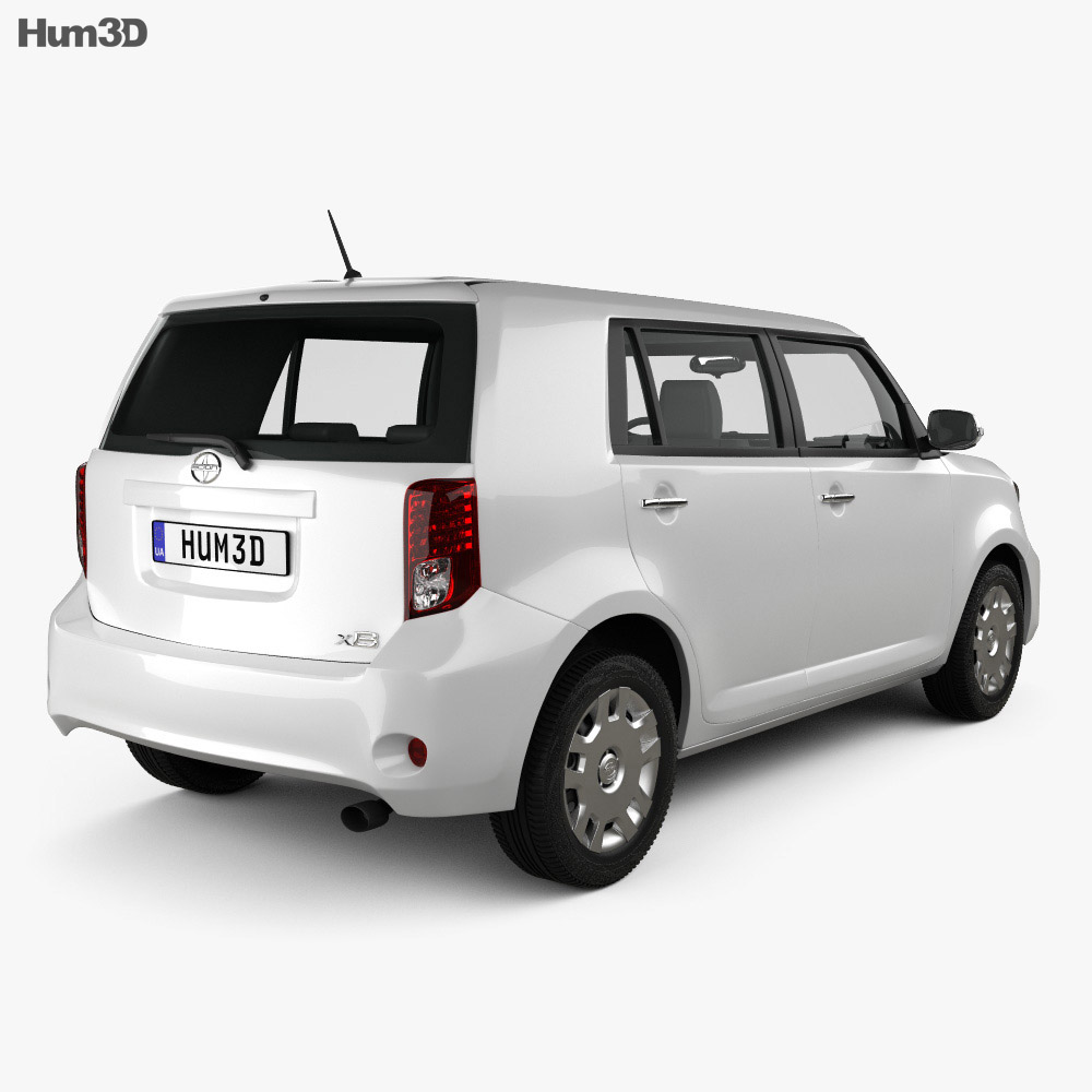 Scion xB 2012 3d model
