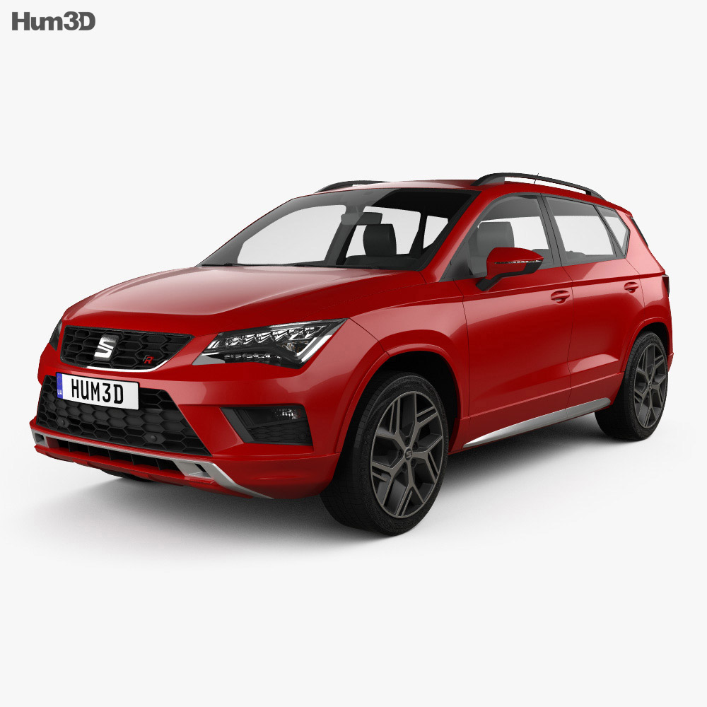 Discount Car Parts >> Seat Ateca FR 2018 3D model - Hum3D