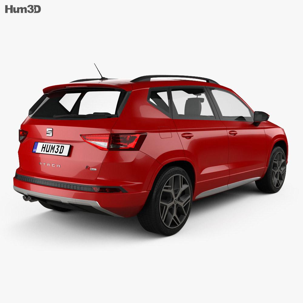 seat ateca fr 2018 3d model vehicles on hum3d. Black Bedroom Furniture Sets. Home Design Ideas