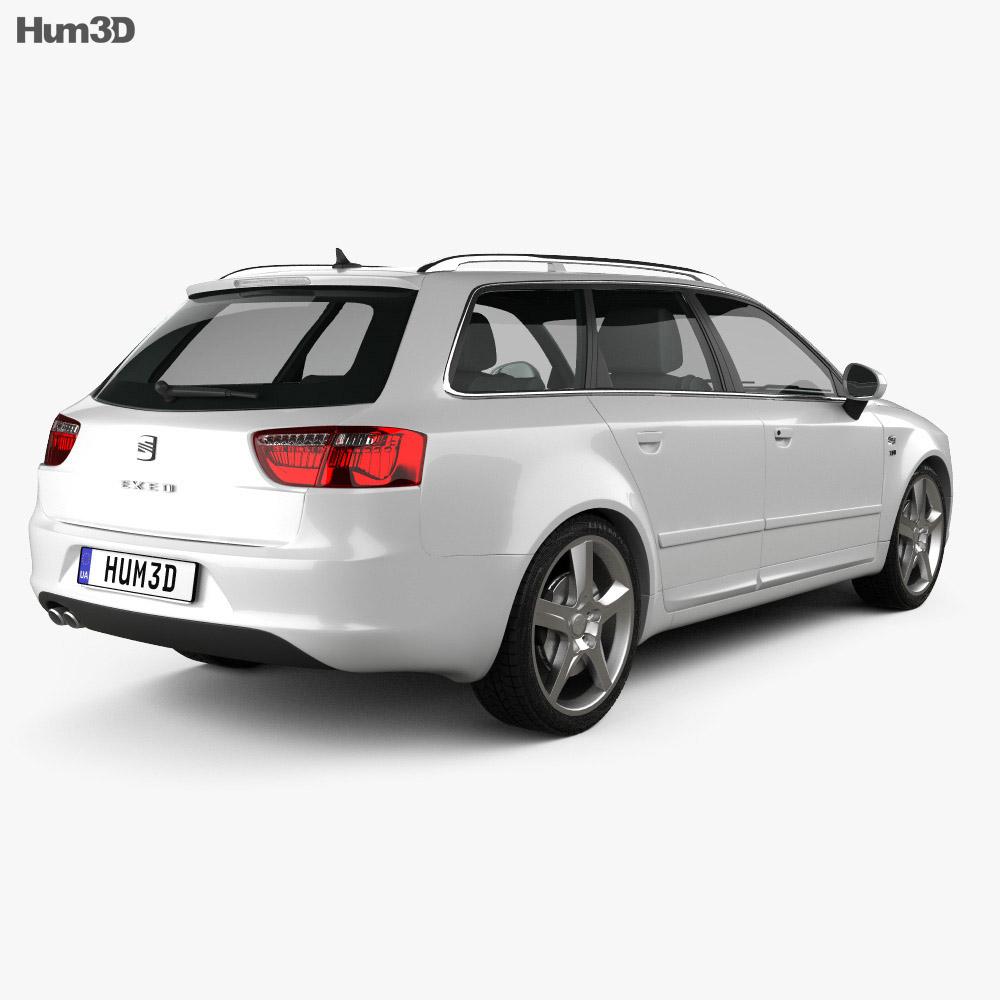 Seat Exeo Tourer 2009 3d model