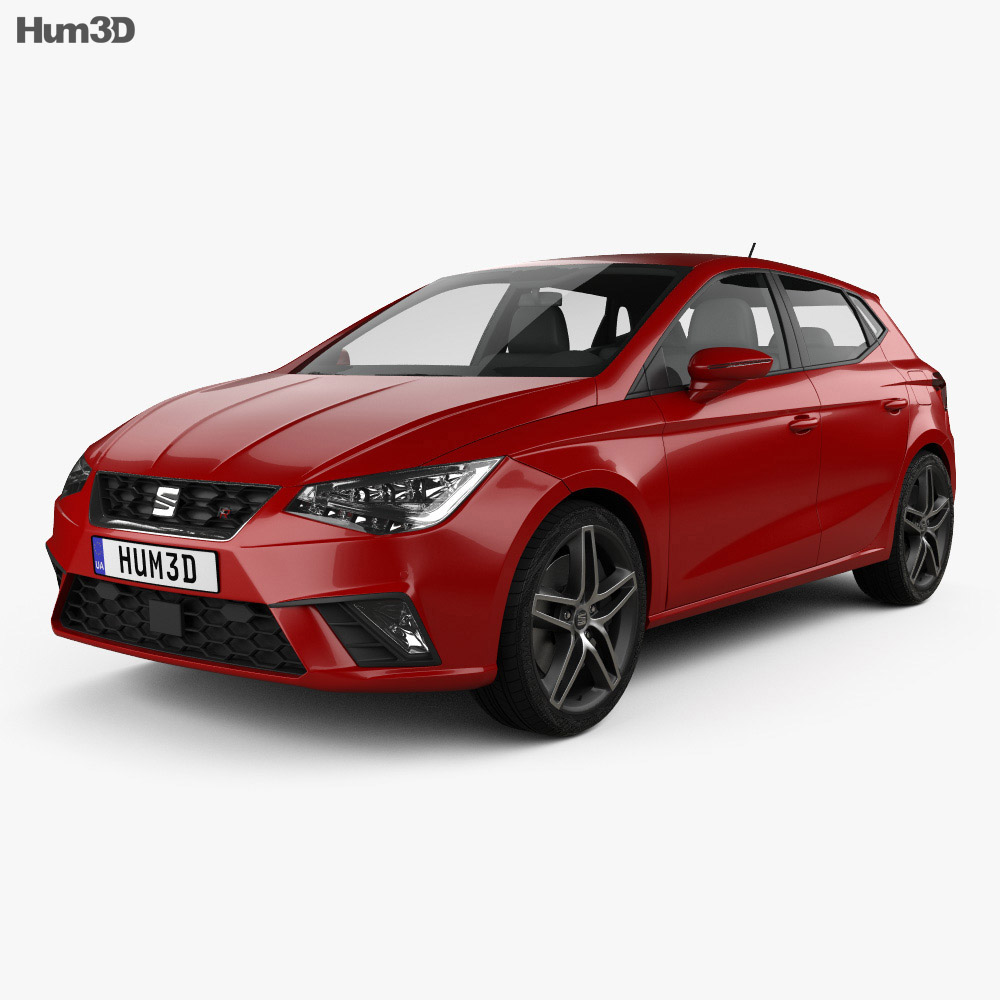 seat ibiza fr 2017 3d model hum3d. Black Bedroom Furniture Sets. Home Design Ideas