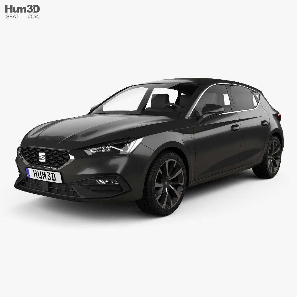 Seat Leon FR eHybrid 5-door hatchback 2020 3d model