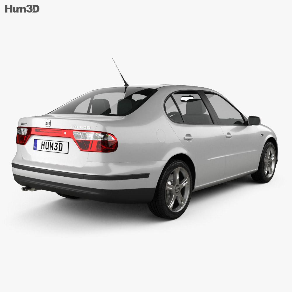 Seat Toledo 1999 3d model