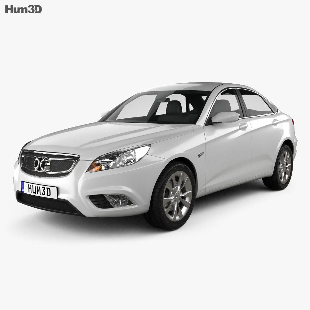 Senova D50 2014 3d model