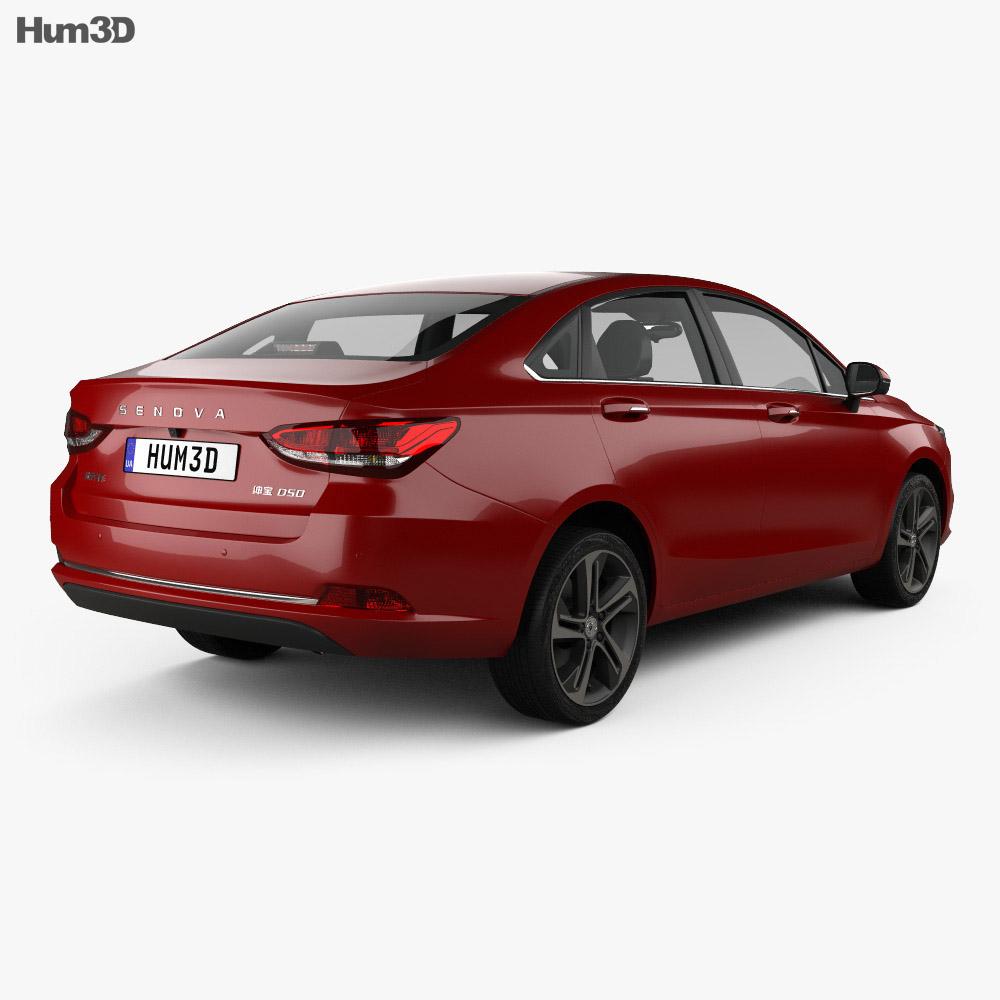 Senova D50 2017 3d model