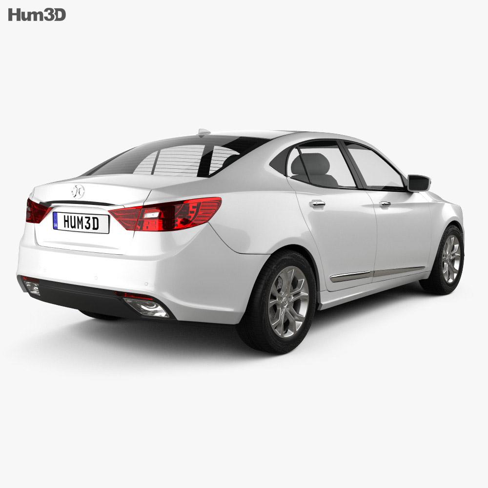 Senova D60 2014 3d model