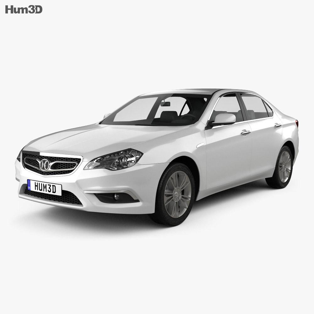 Senova D70 2013 3d model