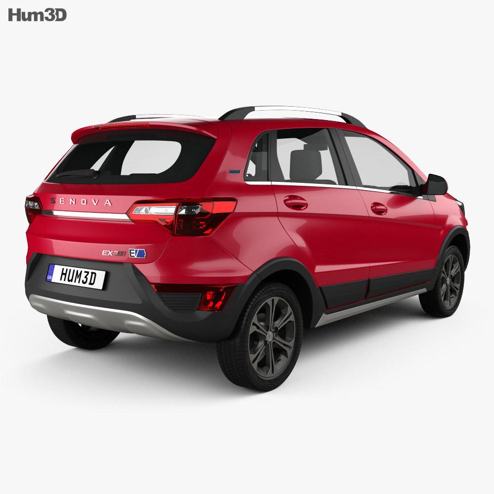 Senova EX200 2016 3d model