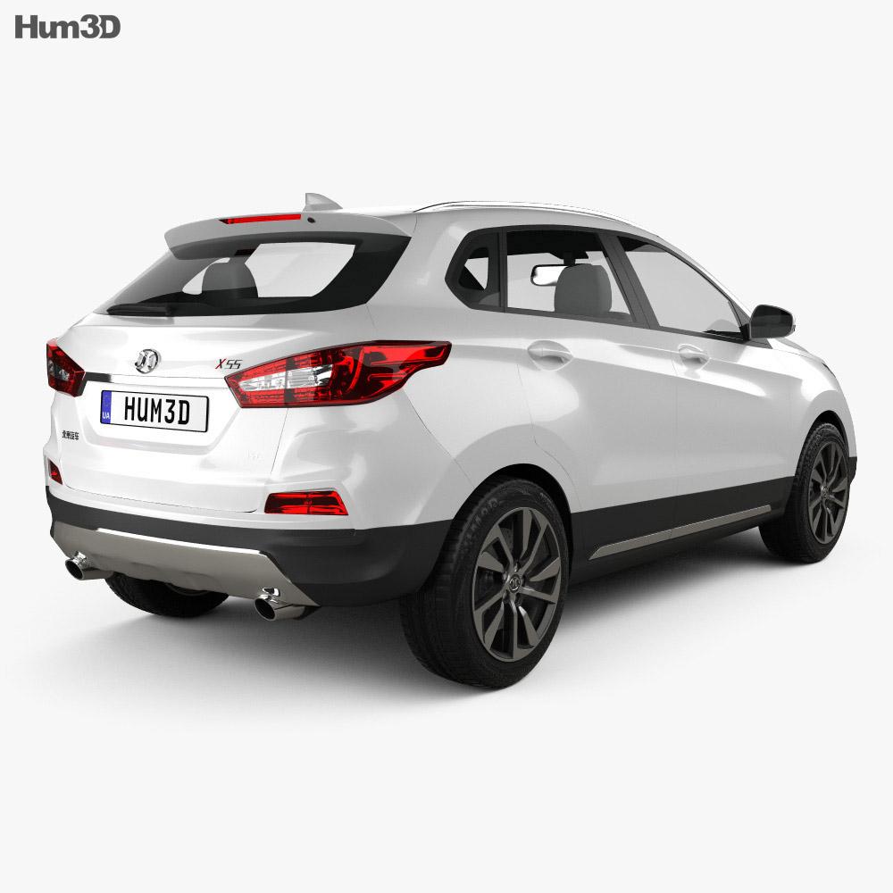 Senova X55 2015 3d model