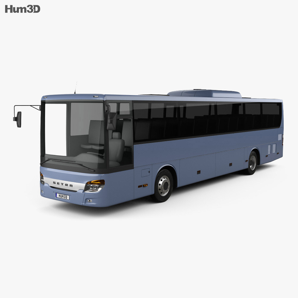 3D model of Setra MultiClass S 415 H Bus 2015