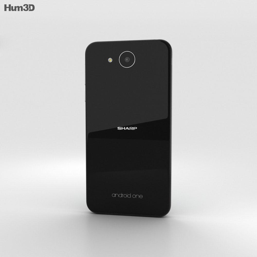 Sharp Aquos 507SH Black 3d model