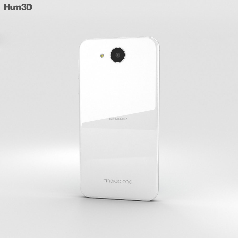 Sharp Aquos 507SH White 3d model