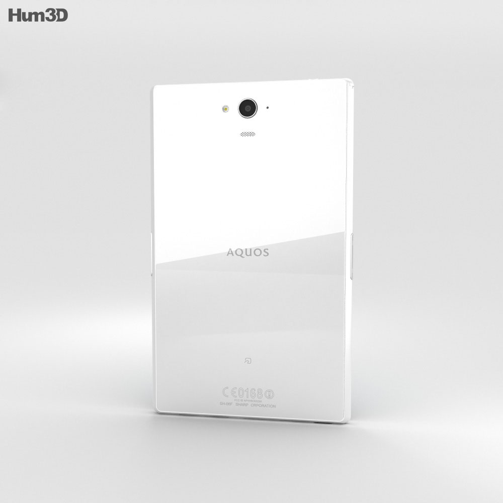 Sharp Aquos Pad SH-06F White 3d model