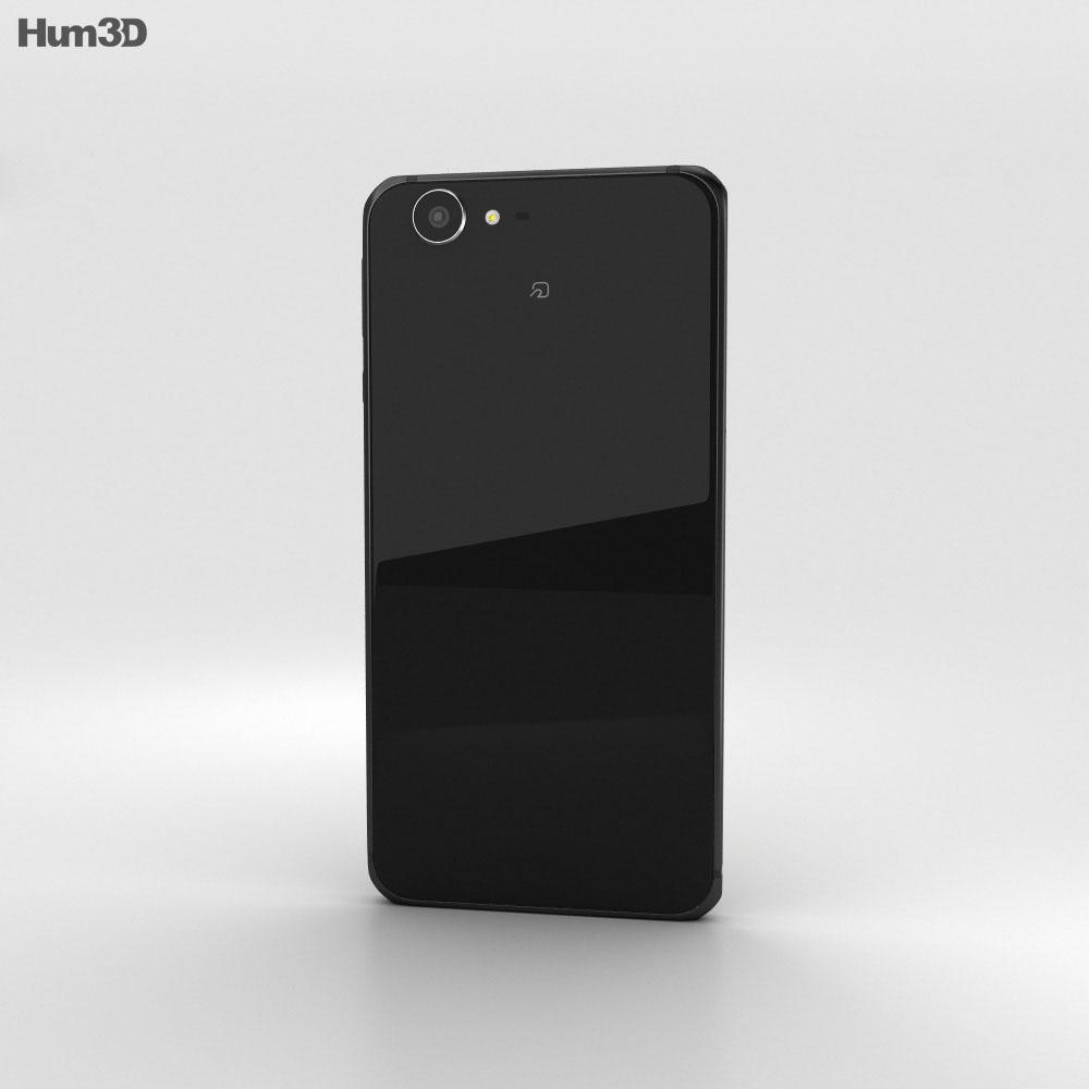 Sharp Aquos Xx3 Black 3d model
