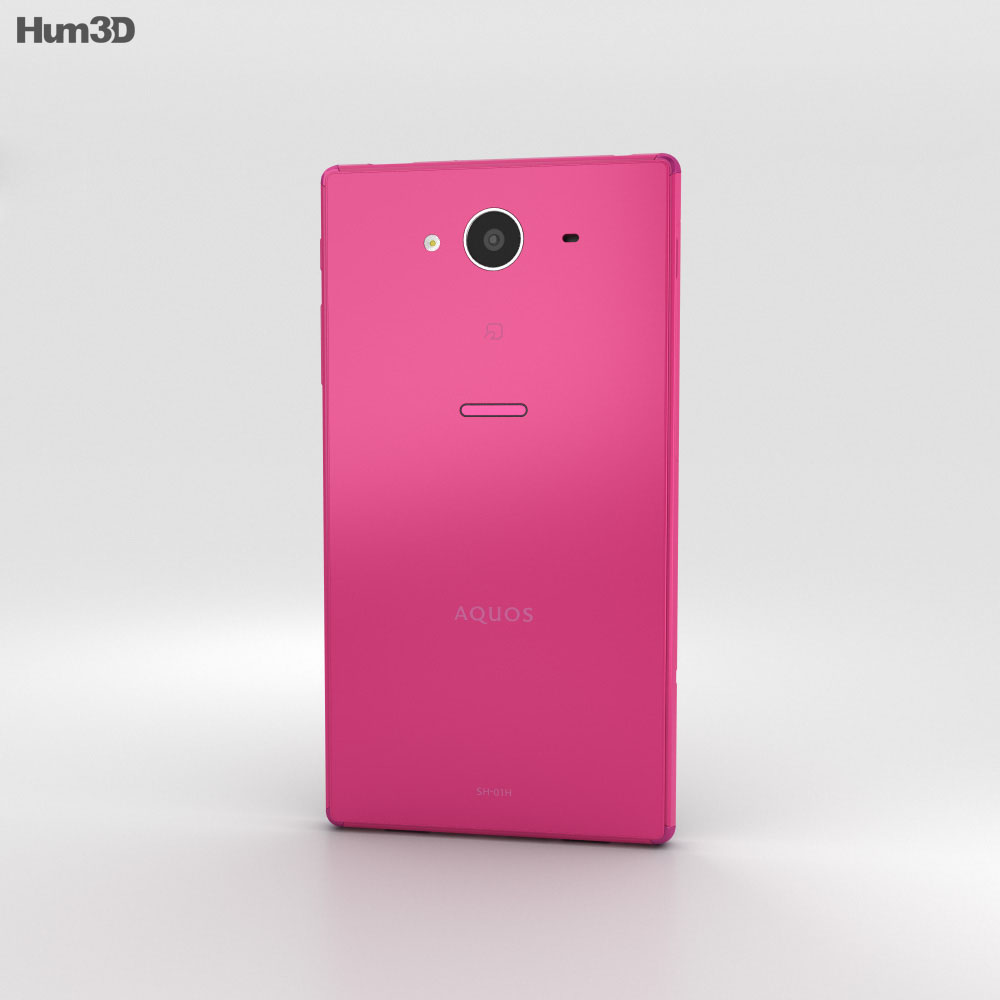 Sharp Aquos Zeta SH-01H Pink 3d model