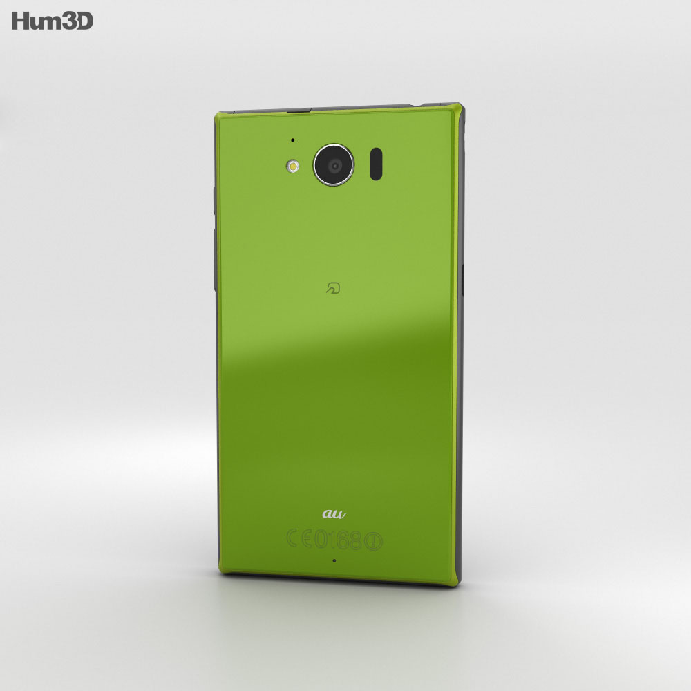 Sharp Aquos Serie SHV32 Green 3d model
