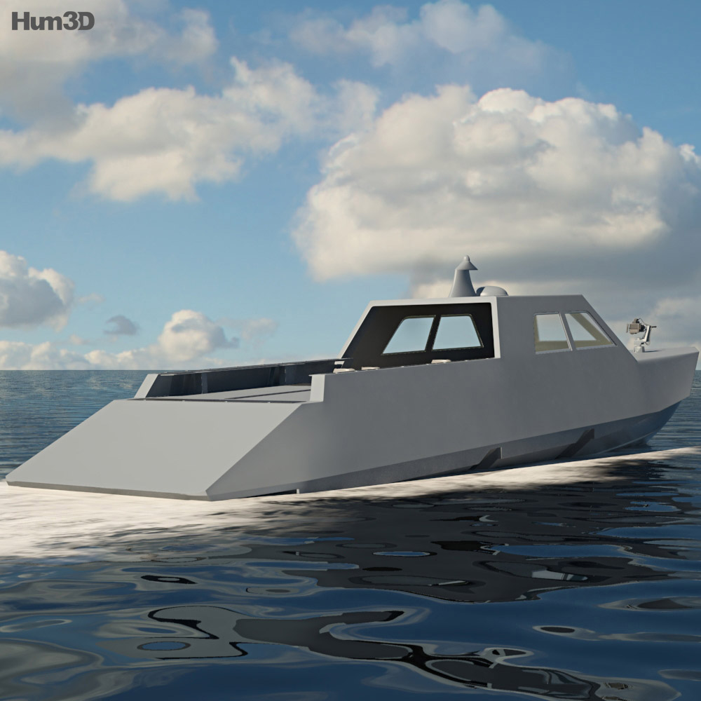 Combatant Craft Medium Mk1 3d model