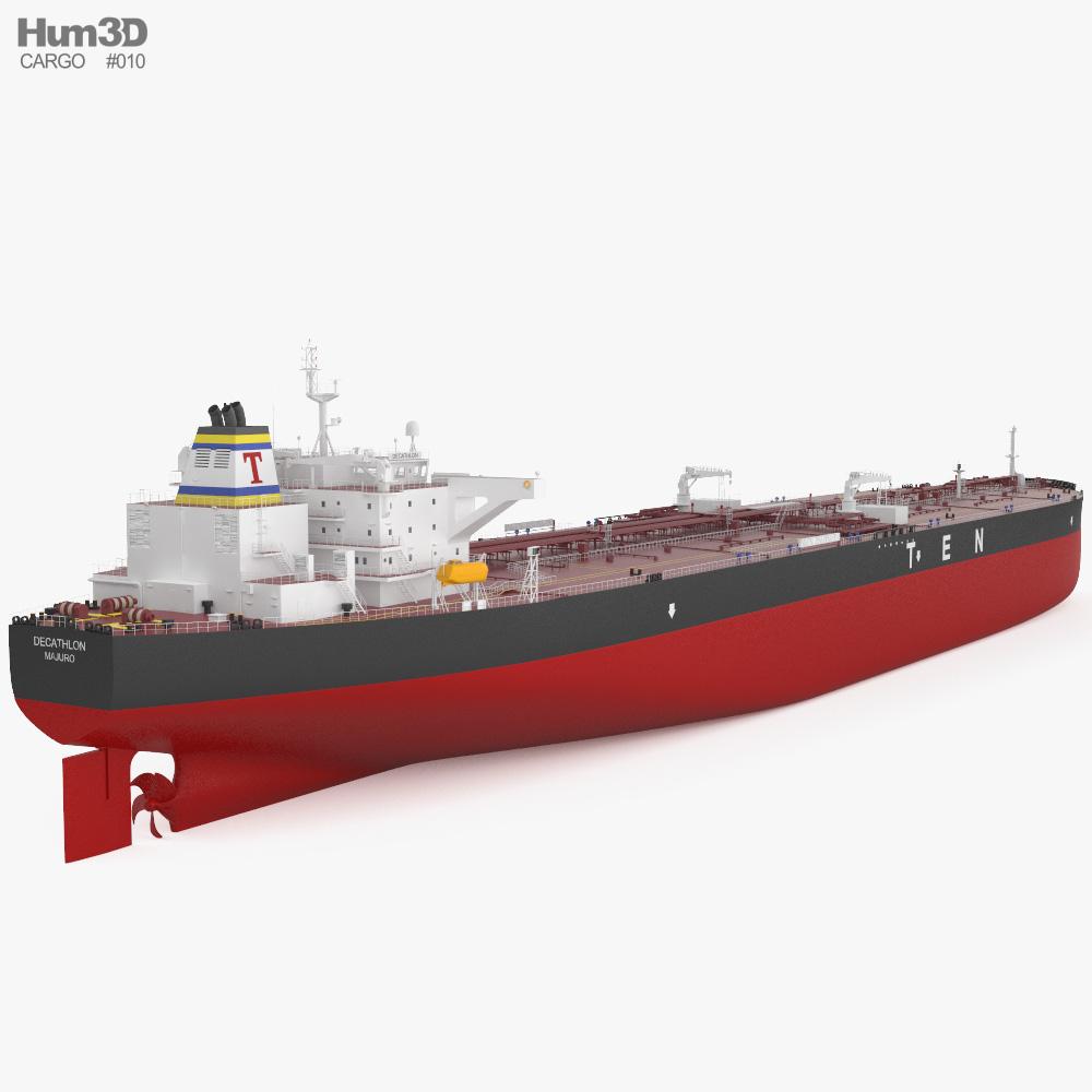 Crude Oil Tanker Decathlon 3d model