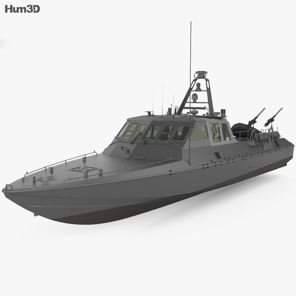 Mark V Special Operations Craft 3d model