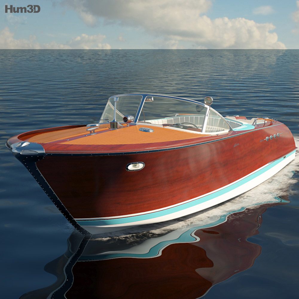 Riva Aquarama 3d model