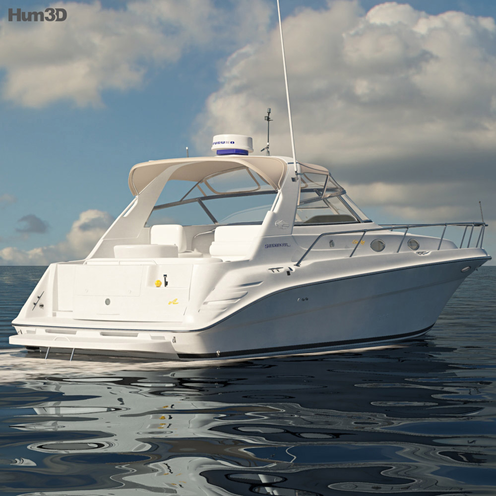 Sea Ray 330 Sundancer 3d model
