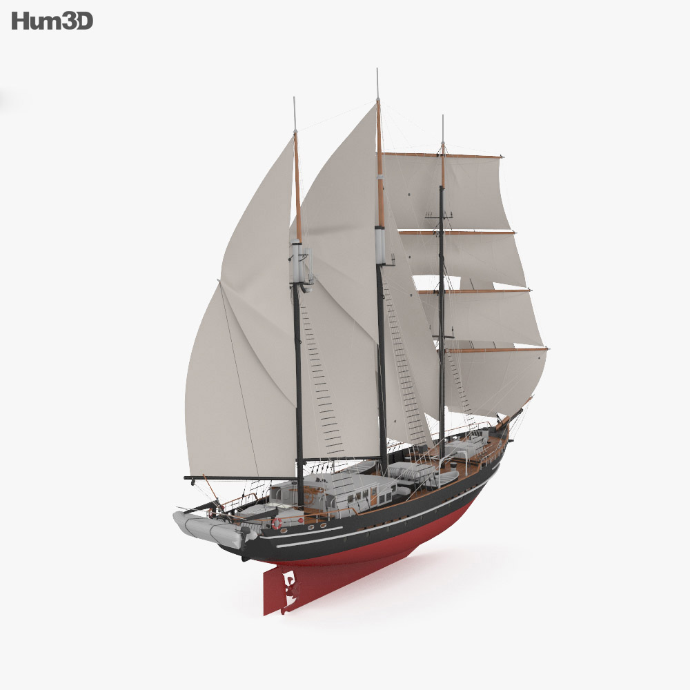 Spirit of New Zealand 3d model