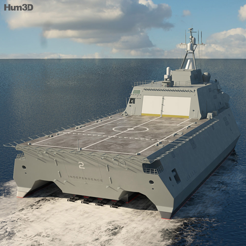 USS Independence 3d model