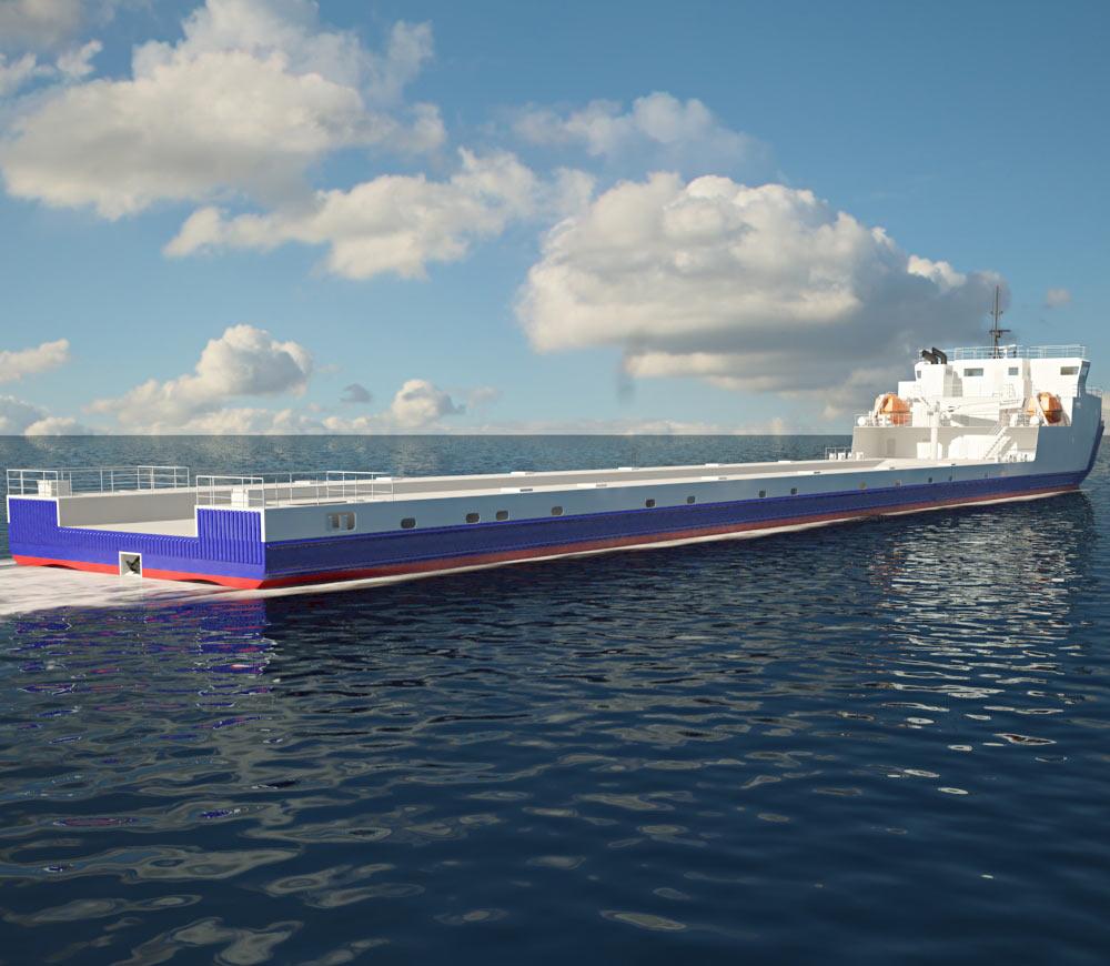 VARD 9 21 Module Carrier Vessel 3d model