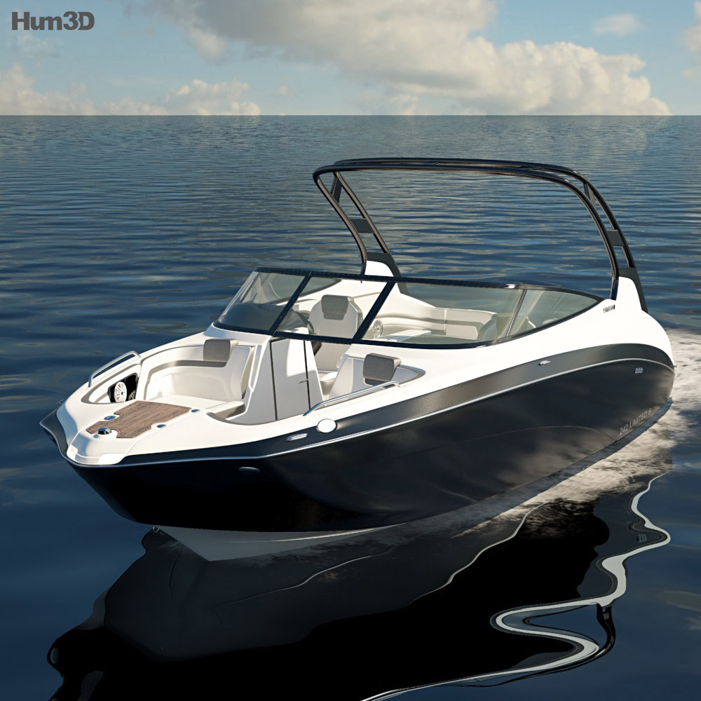 Yamaha 242 Limited S 3d model