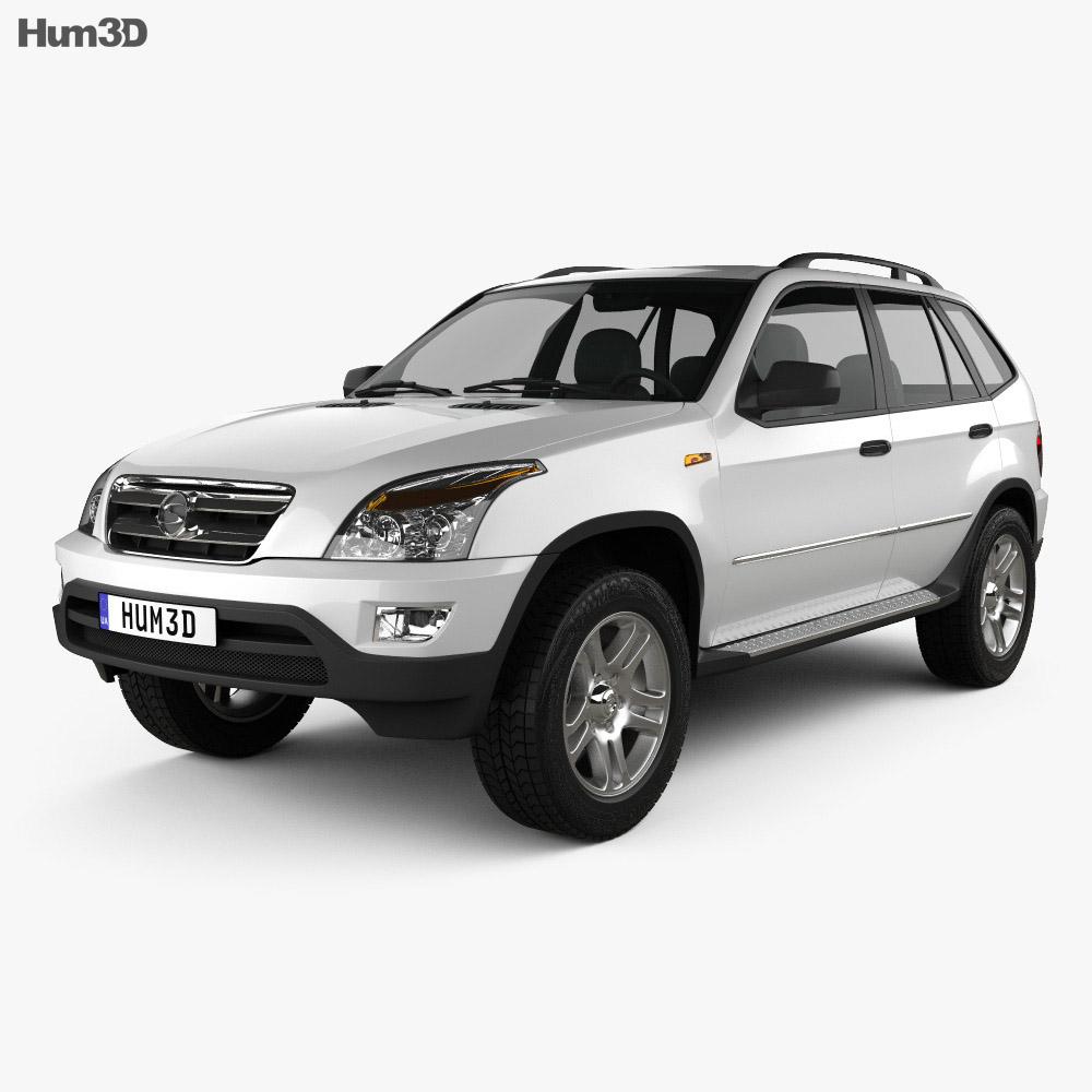 Shuanghuan SCEO 2007 3d model