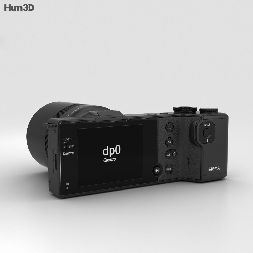 Sigma DP0 Quattro 3d model