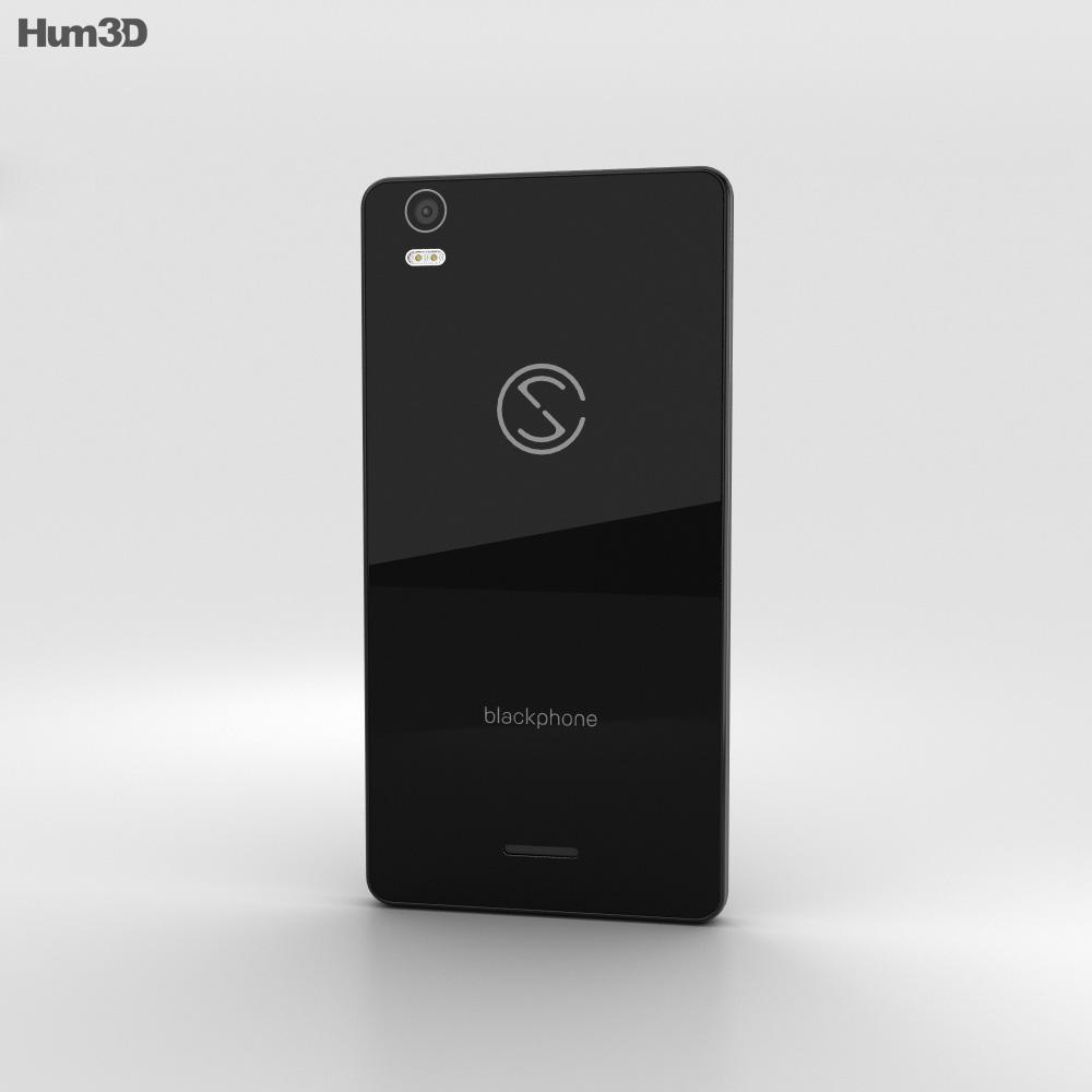 Silent Circle Blackphone 2 3d model