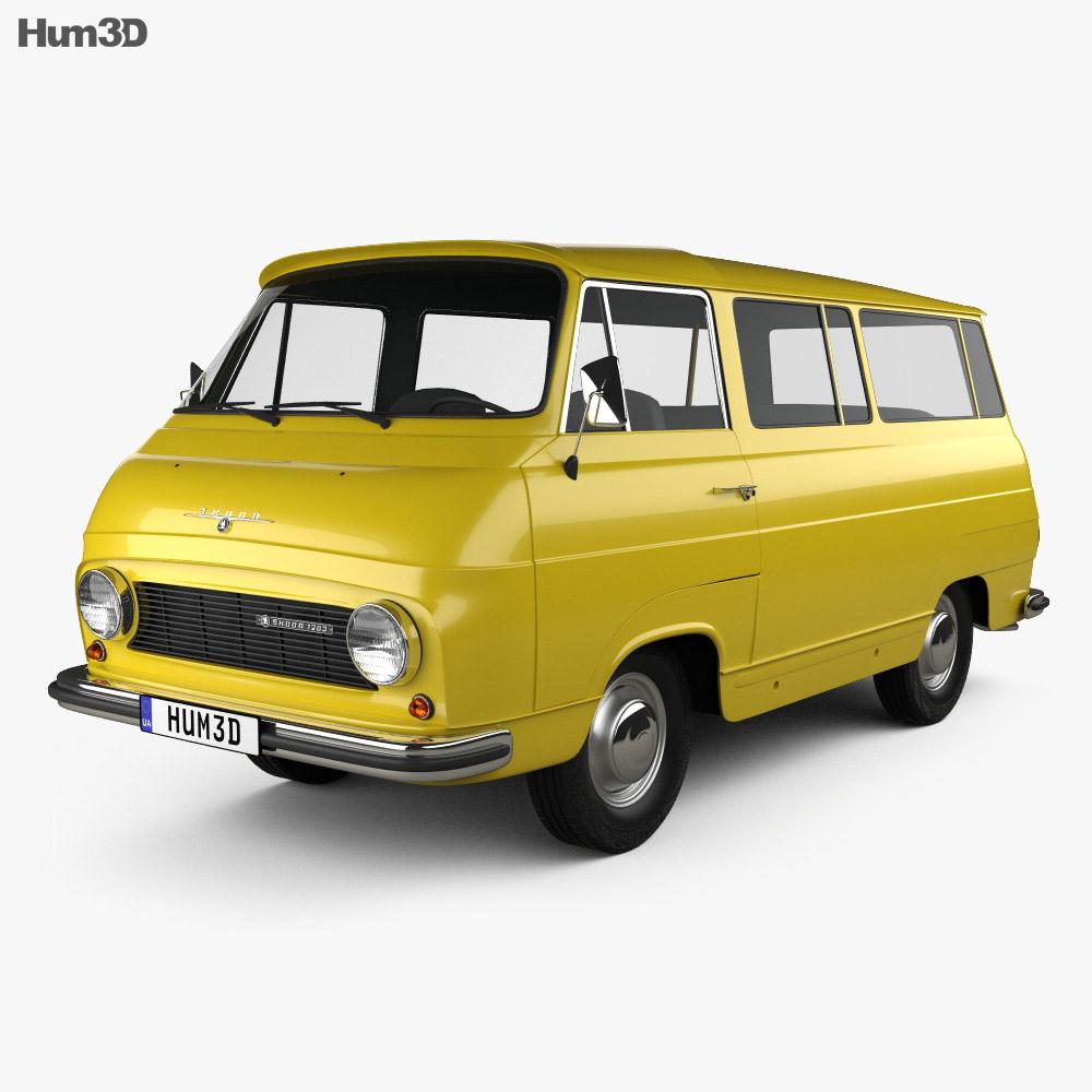 Skoda 1203 1968 3D model