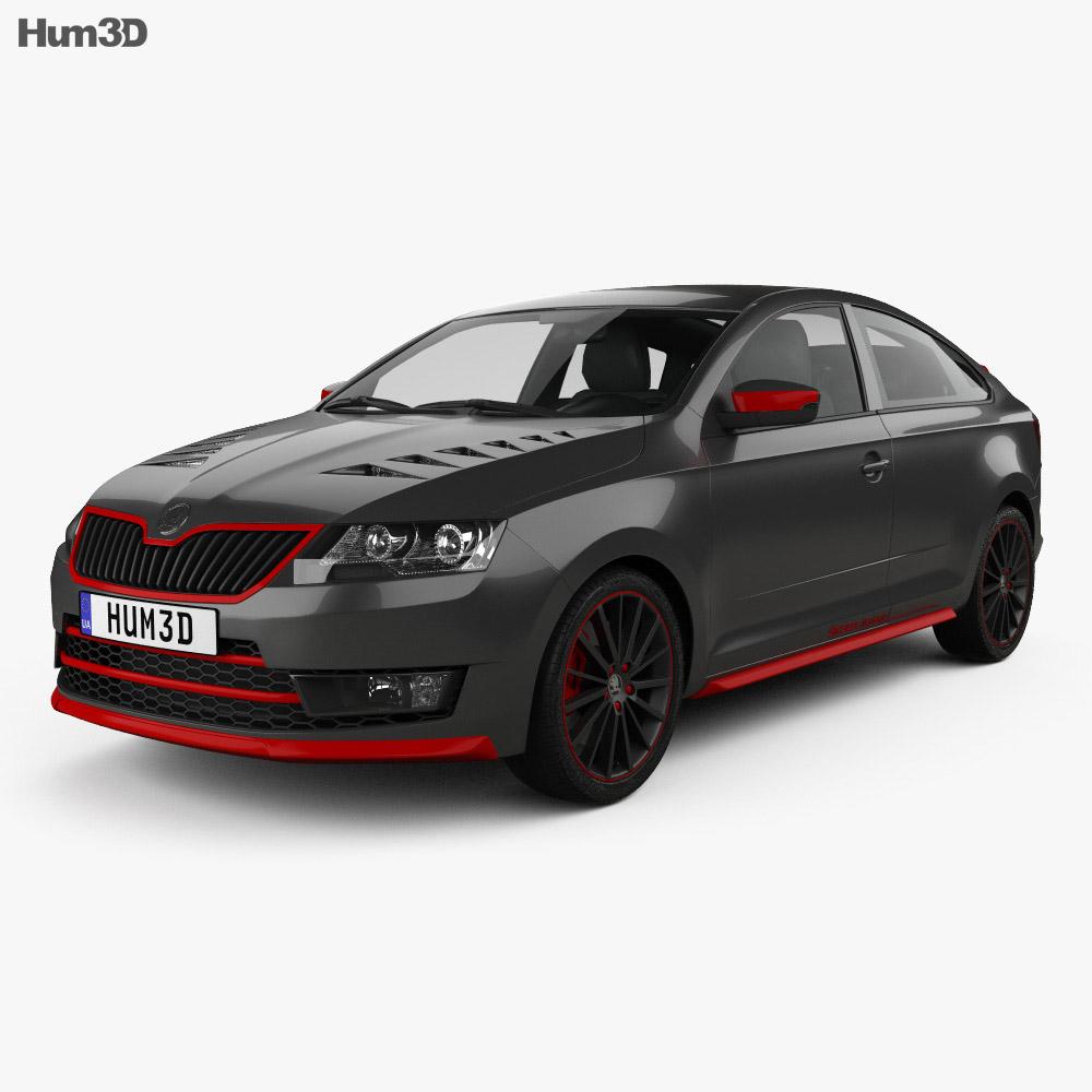 Skoda Atero 2016 3d model