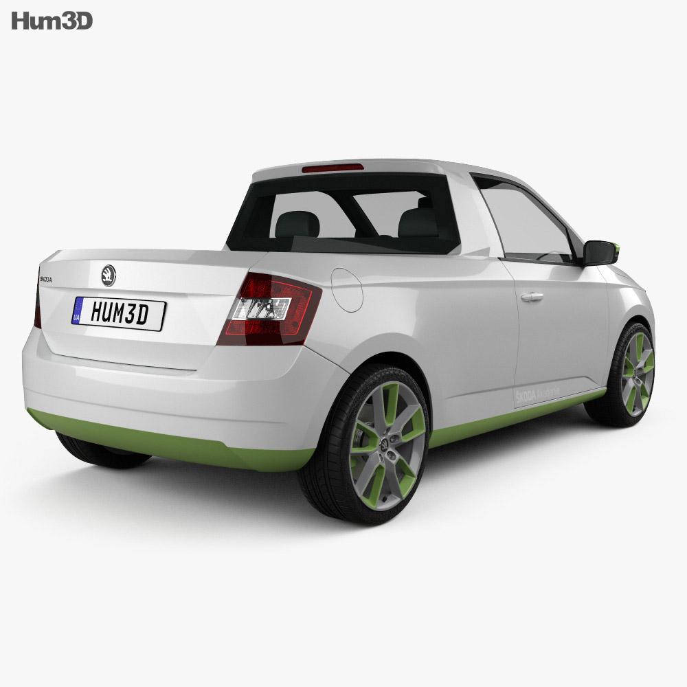 Skoda FUNstar 2015 3d model