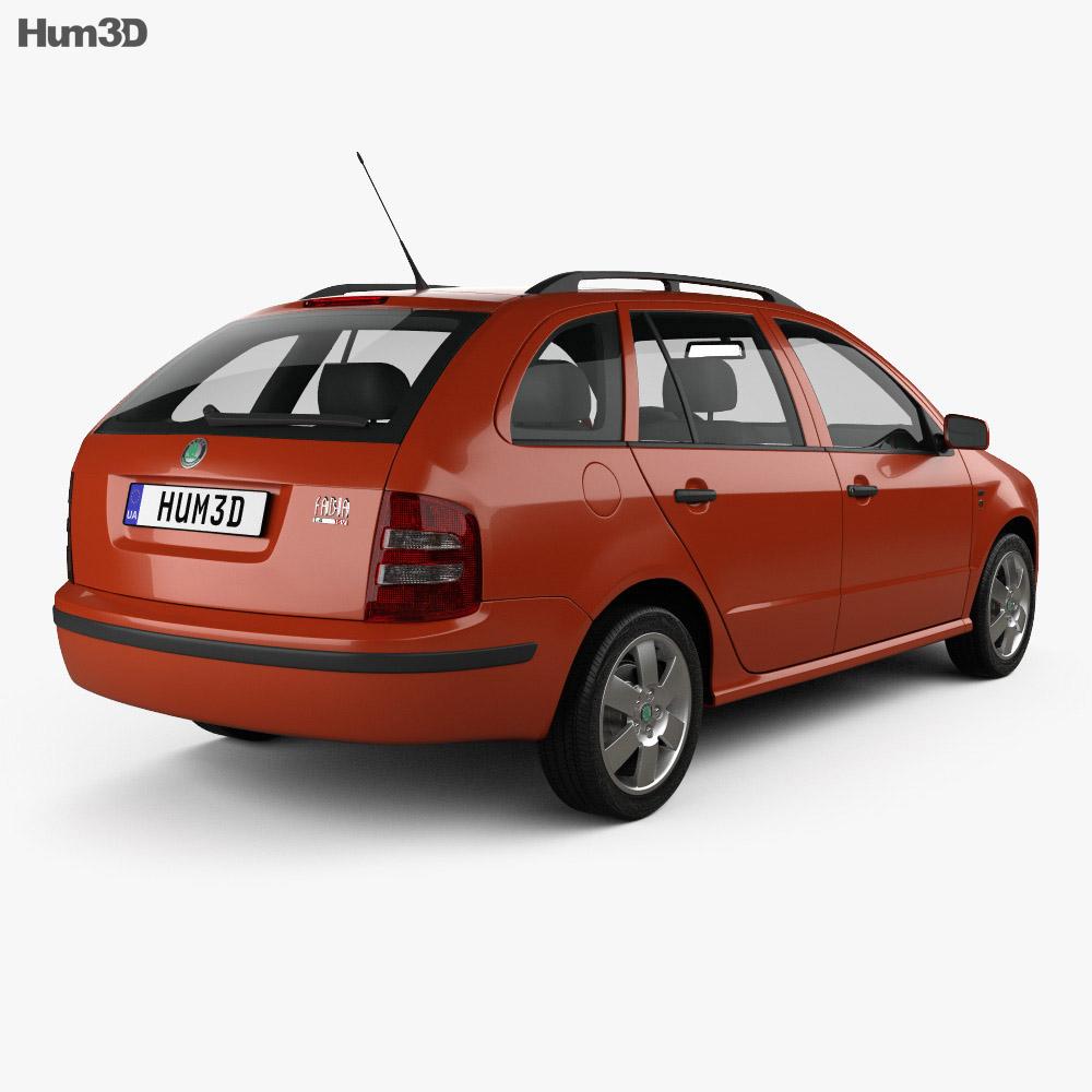 Skoda Fabia Combi 2001 3d model
