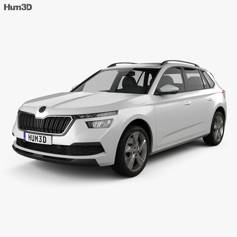 Skoda Kamiq 2019 3d model