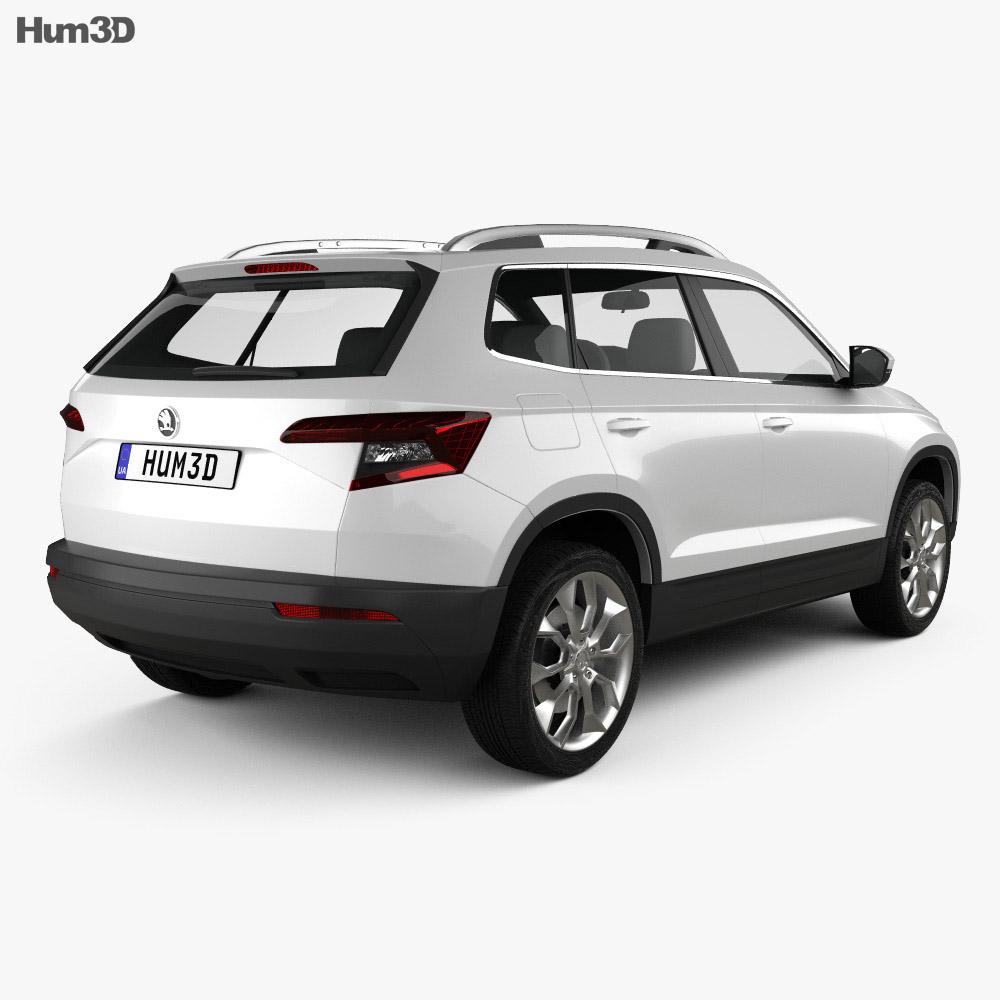 Skoda Karoq 2018 3d model