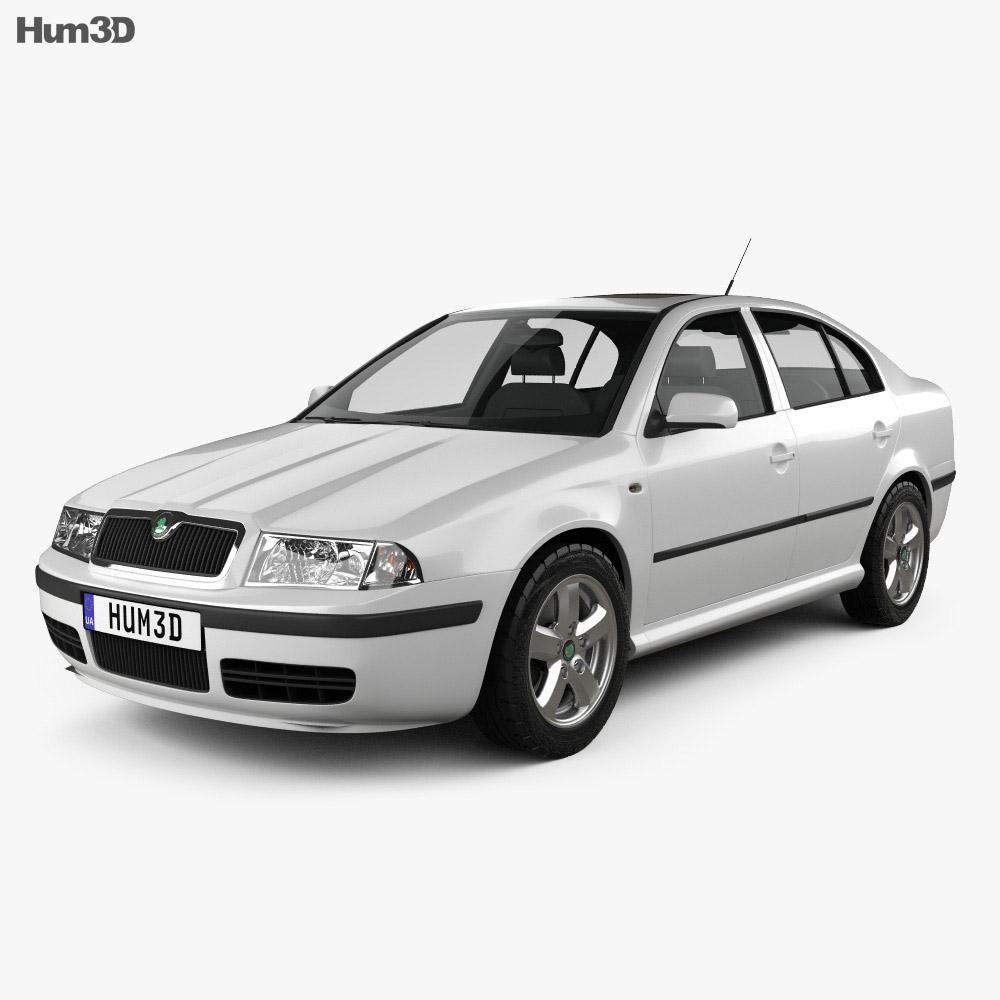 Skoda Octavia Tour 2000 3d model