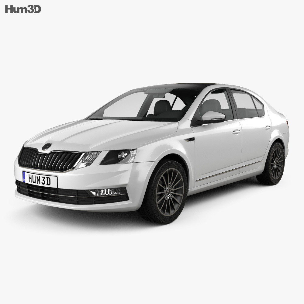 Skoda Octavia CN-spec liftback 2018 3d model