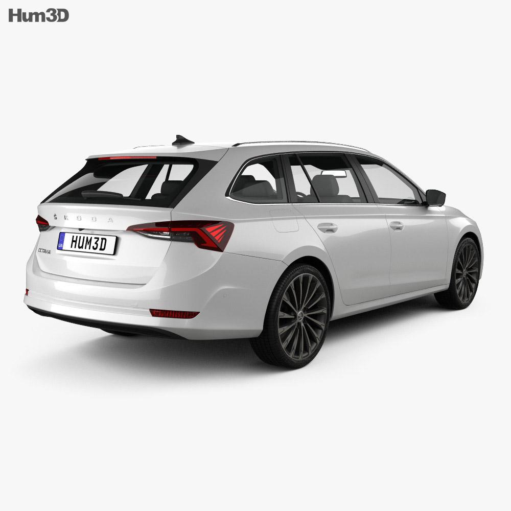 Skoda Octavia combi 2020 3d model