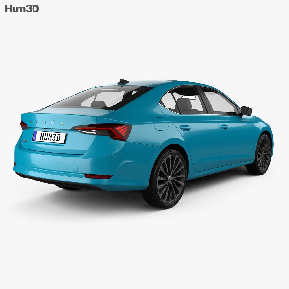 Skoda Octavia liftback 2020 3d model