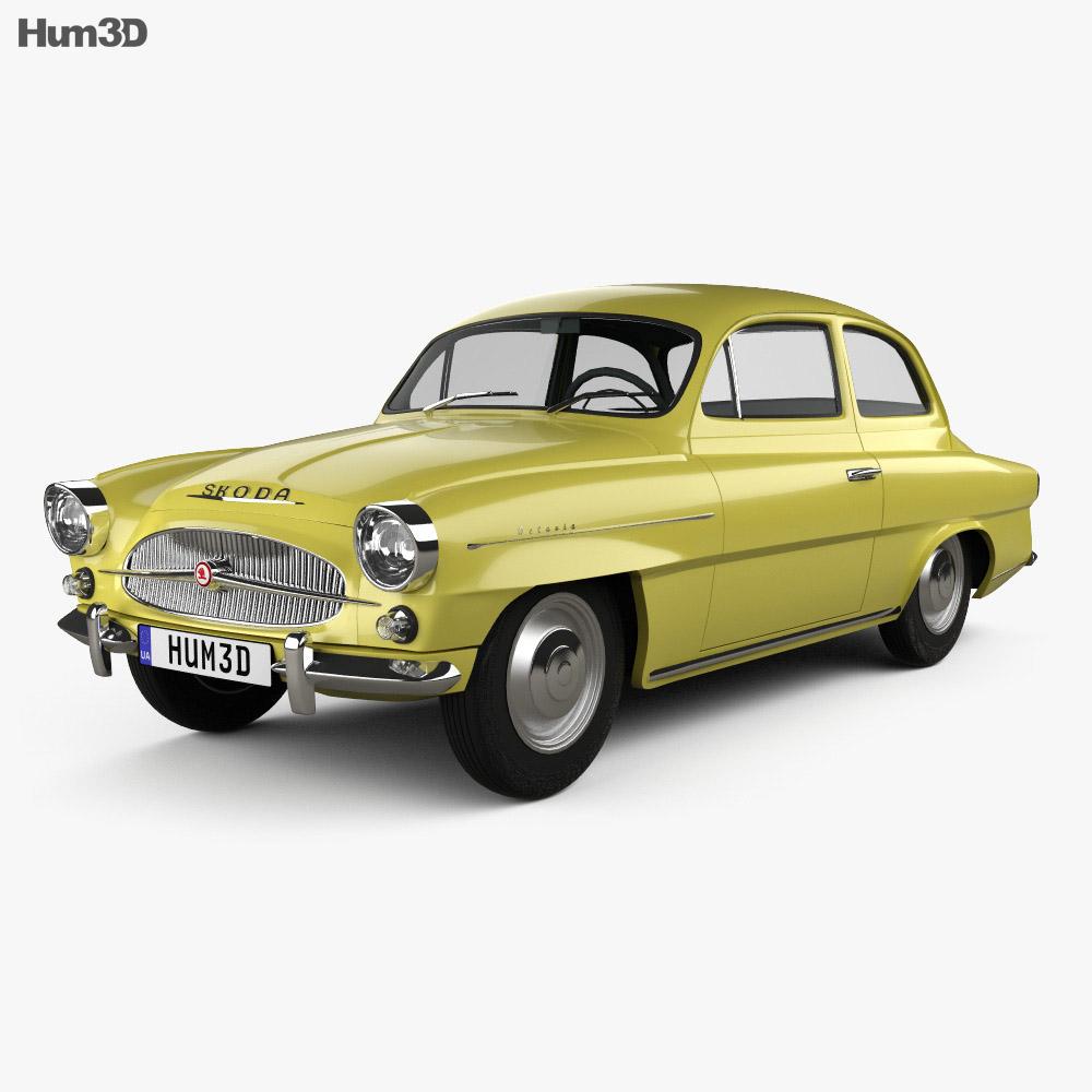 Skoda Octavia 1959 3d model