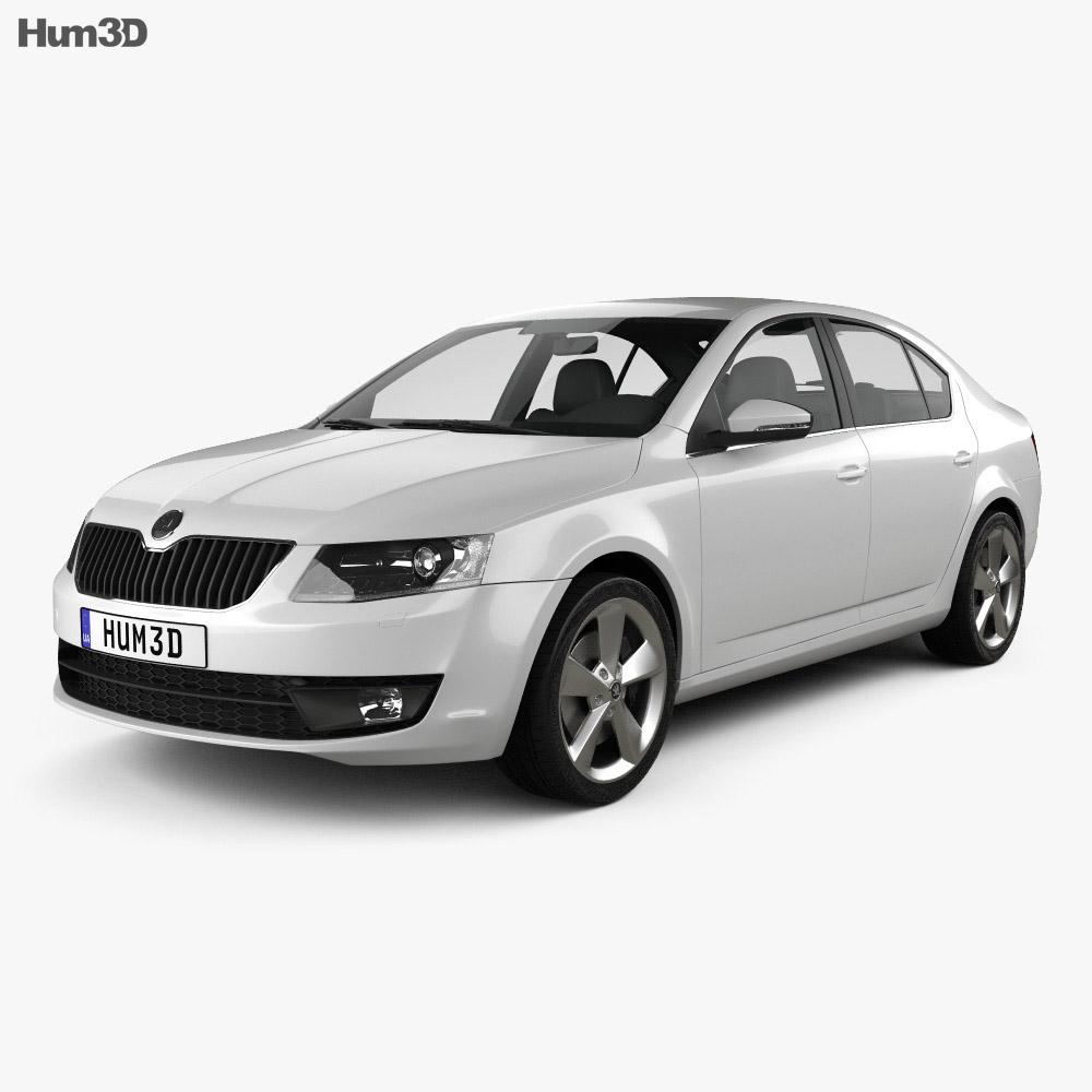 Skoda Octavia 2013 3d model