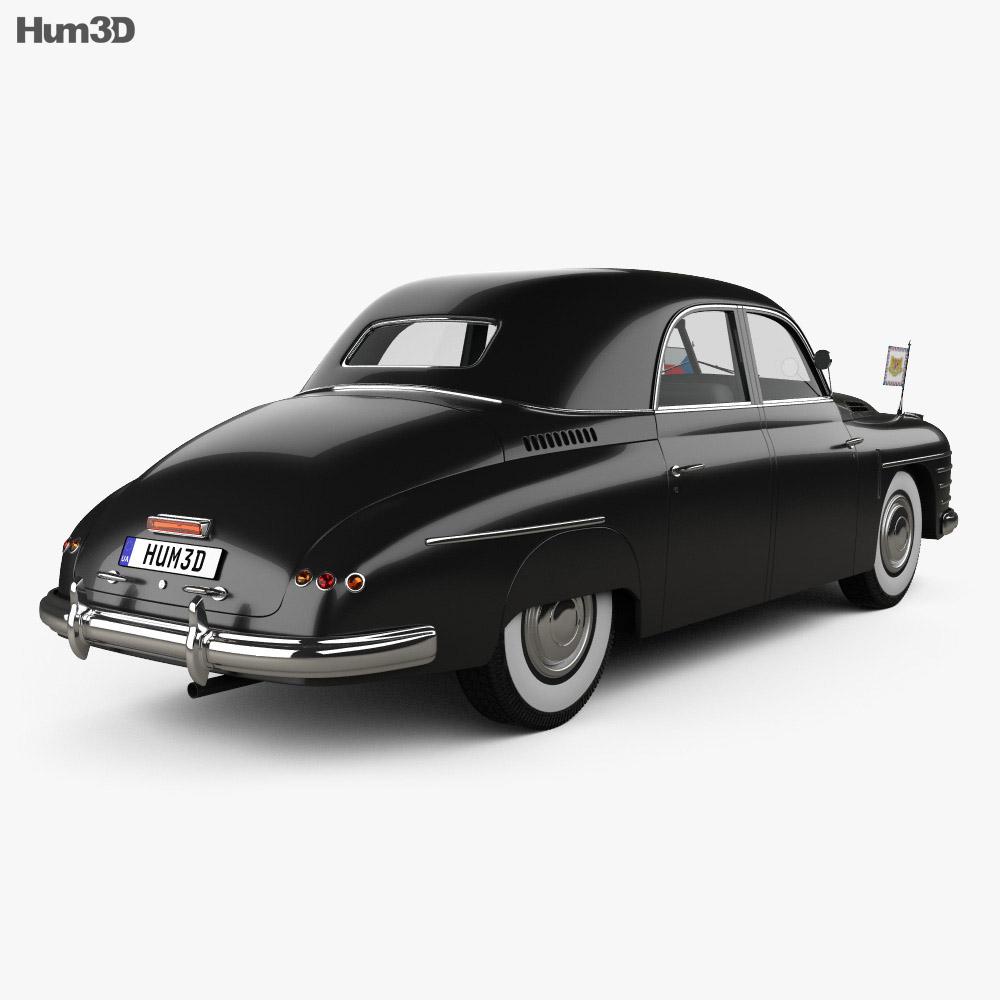 Skoda VOS 1950 3d model