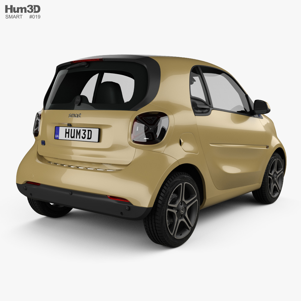 Smart ForTwo EQ Pulse coupe 2020 3d model