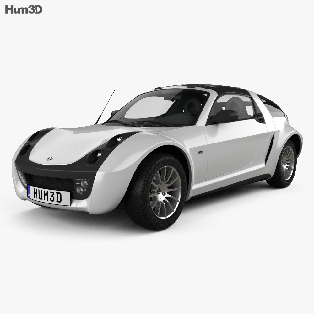 Smart Roadster Coupe 2005 3d model